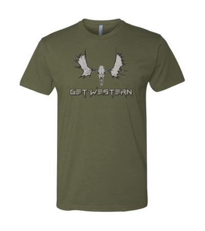 Get Western Moose T-Shirt
