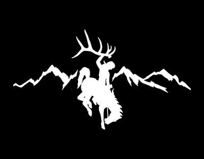 ShedNecks Rocky Mountain Decal