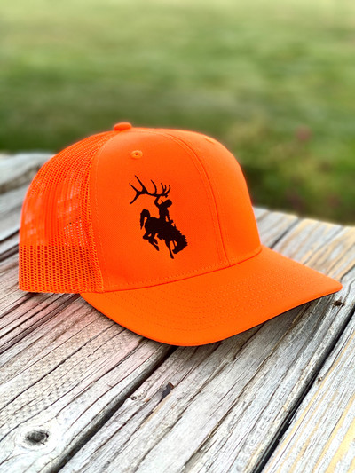 Shednecks Blaze Orange Hat