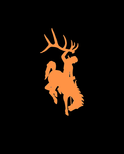 Bucking Horse Logo Decal- OUTLET