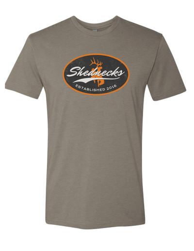 Shednecks Vintage Badge T-Shirt