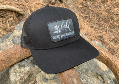 Get Western Gravedigger Patch Hat - Black/Black