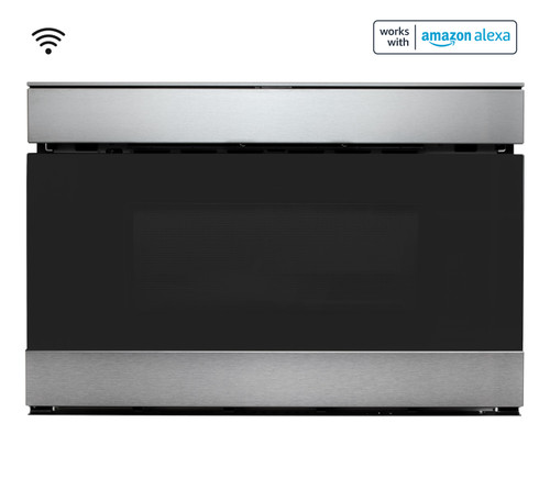 Sharp Stainless Steel IoT Easy Wave Open Microwave Drawer Oven