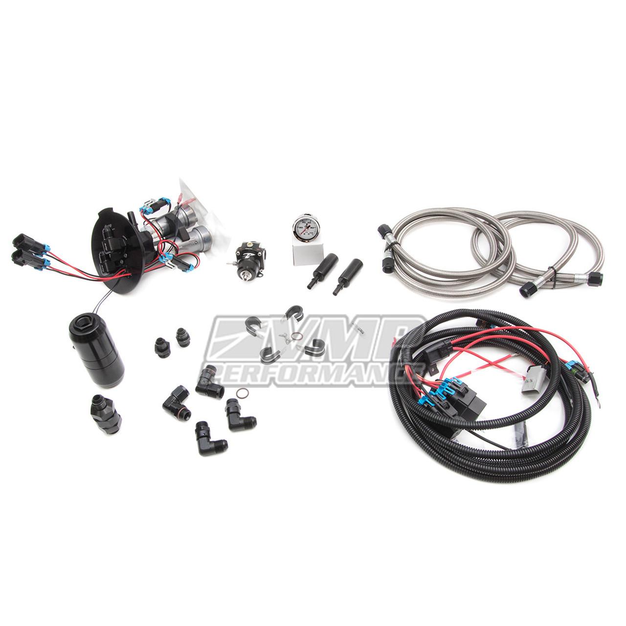VMP Gen3R 2.65L Supercharger Kit + VMP Return Style Fuel System (2011-2017 Coyote 5.0L)