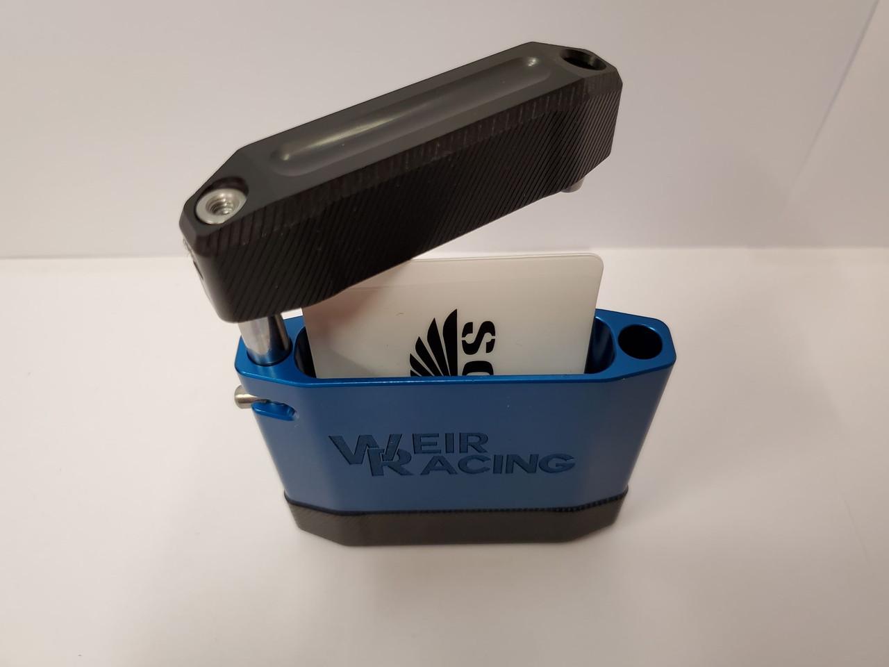 """Weir Racing """"Vertical"""" SCUDO Wallet - Blue"""