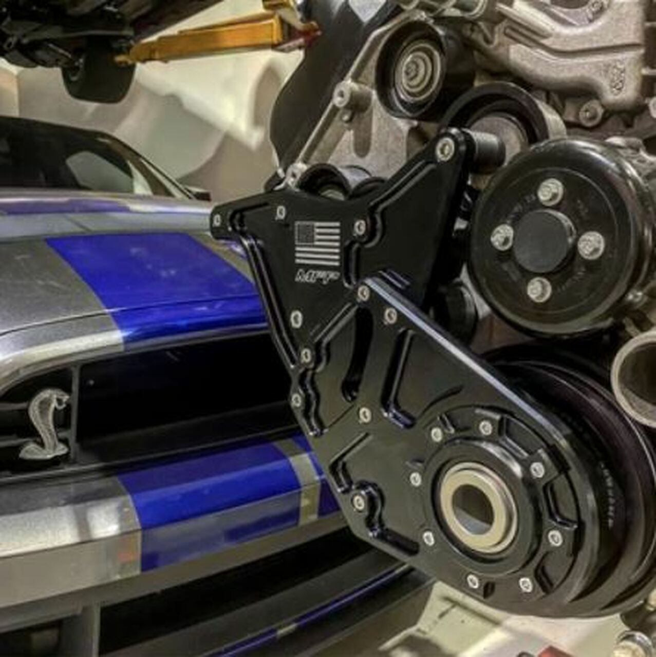 MFP GT500 Crank Support (2007-2014 Shelby GT500)