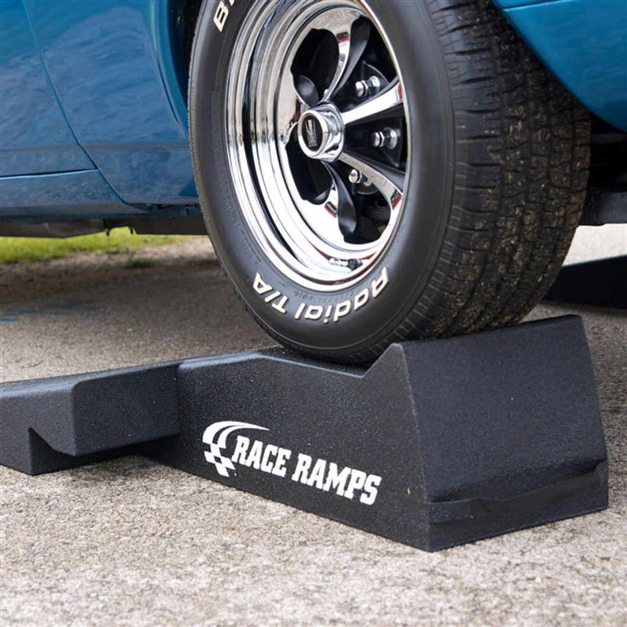 """Race Ramps 56"""" Two Piece Race Ramps - 10.8 Degree Approach Angle"""