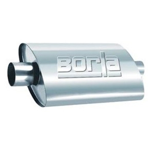 Borla Universal Pro-XS 2.5in Inlet//Outlet Center/Center Muffler (PN: 40364)