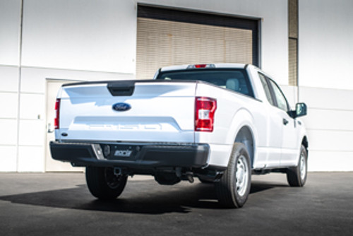 Borla 15-16 Ford F-150 3.5L EcoBoost Ext. Cab Std. Bed Black Chrome CB Exhaust ATAK Truck Side Exit (PN: 140619BC)