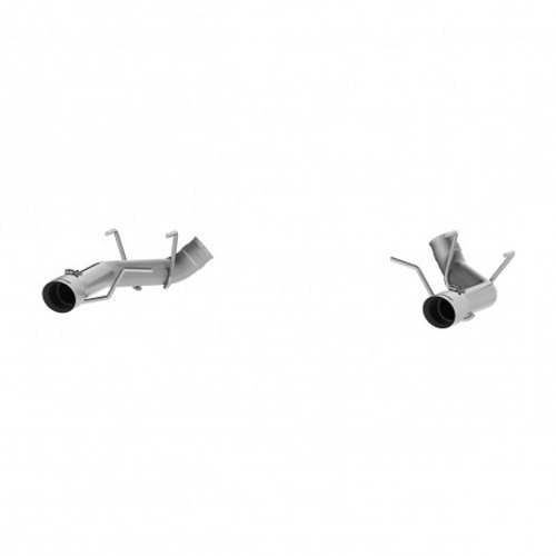 MBRP 2011-2014 Ford Mustang GT 3in Dual Axle Back Muffler Delete - T304 (PN: S7203304) (PN: S7203304)