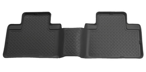 Husky Liners 00-02 Ford F-150 Super Crew Cab Classic Style 2nd Row Black Floor Liners (PN: 63051)