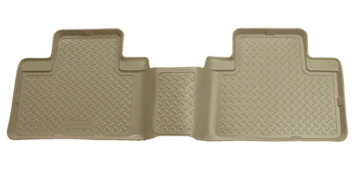 Husky Liners 00-02 Ford F-150 Super Crew Cab Classic Style 2nd Row Tan Floor Liners (PN: 63053)