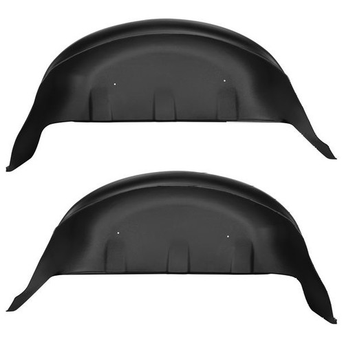Husky Liners 2017 Ford F-250 Super Duty / 2017 Ford F-350 Super Duty Black Rear Wheel Well Guards (PN: 79131)