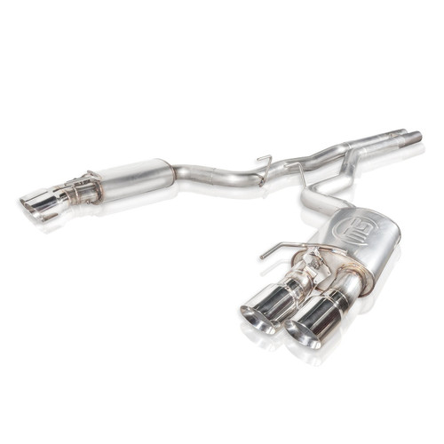 Stainless Works M18CBHPCV - 18+ Ford Mustang GT Redline Cat-Back Performance Connect H-Pipe w/ Active Valves