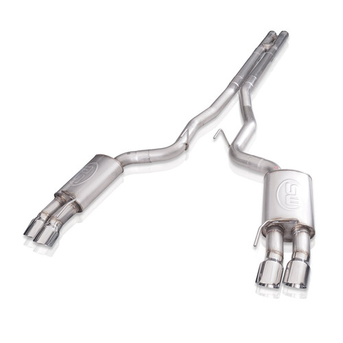 Stainless Works Redline H-Pipe Performance Connect Cat-Back Exhaust (2018-2020 Mustang GT)