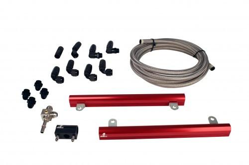 Aeromotive 07 Ford 5.4L GT500 Mustang Fuel Rail Kit (PN: 14145)