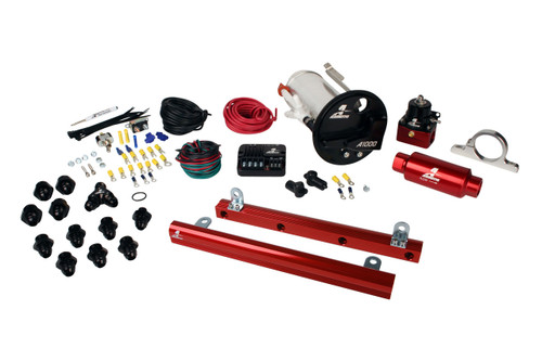 Aeromotive 07-12 Ford Mustang Shelby GT500 16862 A1000 5.4L Rails 16306 PSC and Misc. Fittings (PN: 17313)
