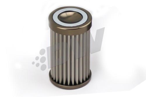 DeatschWerks Stainless Steel 100 Micron Universal Filter Element (fits 110mm Housing) (PN: 8-02-110-100)