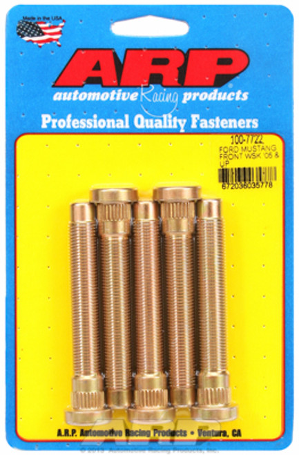 ARP 05-14 Ford Mustang Front Wheel Stud Kit (5 studs)