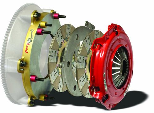 McLeod RXT 2011-12 Challenger Assy Sprung Hub 1-1/8 X 10 Spl W/Street Base Plate
