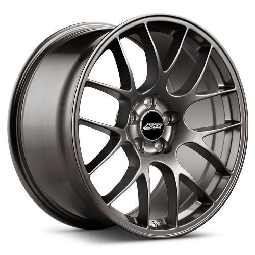 "19x11"" ET52 APEX EC-7 Mustang Wheel (Anthracite) (APEX-EC71911ET52AN-45)"