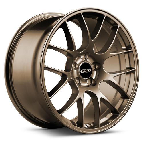 """19x10"""" ET40 APEX EC-7 Mustang Wheel (Matte Bronze)"""