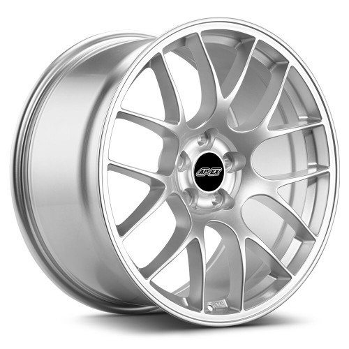 """19x10"""" ET40 APEX EC-7 Mustang Wheel (Race Silver)"""