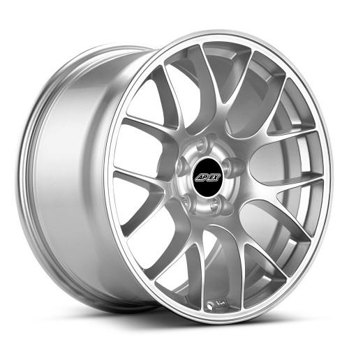 """18x9.5"""" ET35 APEX EC-7 Mustang Wheel (Race Silver)"""