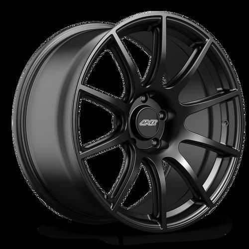 "19x11.5"" ET56 APEX SM-10 Mustang Wheel (Satin Black)"