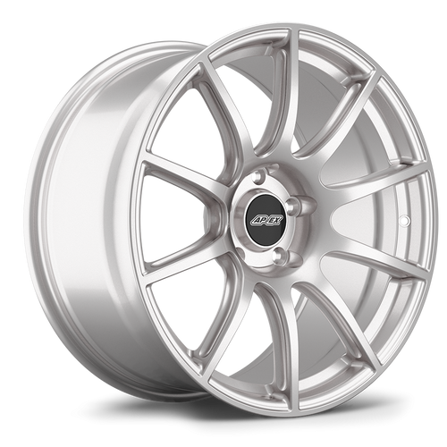 "19x11"" ET52 APEX SM-10 Mustang Wheel (Race Silver)"