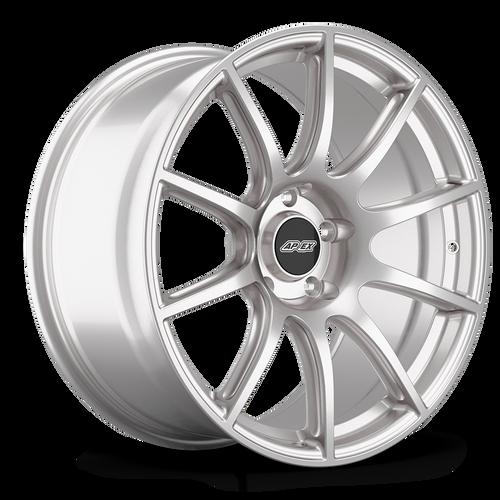 "19x11"" ET52 APEX SM-10 Mustang Wheel (Race Silver)"