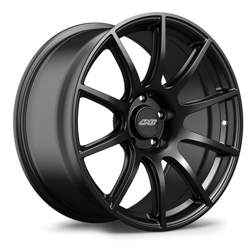 "19x10"" ET40 APEX SM-10 Mustang Wheel (Satin Black)"