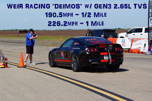 VMP Gen3 2.65L TVS Results on the World's Fastest TVS GT500 - Weir Racing Deimos