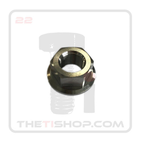 Ti Flanged Hex Nut 5/8 - 18