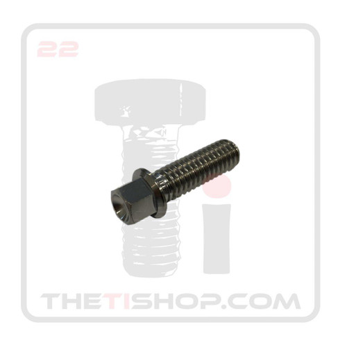 Ti Flanged Hex Bolt 5/16'' - 18 x 1 (1/2'' Flange Diameter)