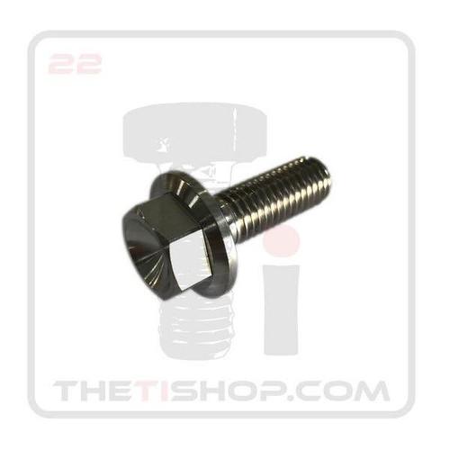 Titanium Flanged Hex Bolt M12 - 1.75 x 35mm