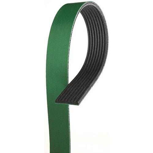 "Gates 87.4"" 10-Rib HD Green Belt (GATES-K100874HD)"