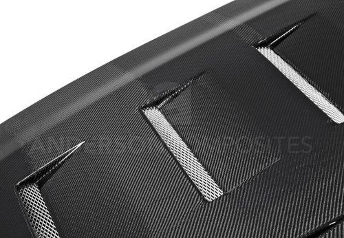 Anderson Composites 2005 - 2009 Mustang Carbon Fiber Hood-Type TS