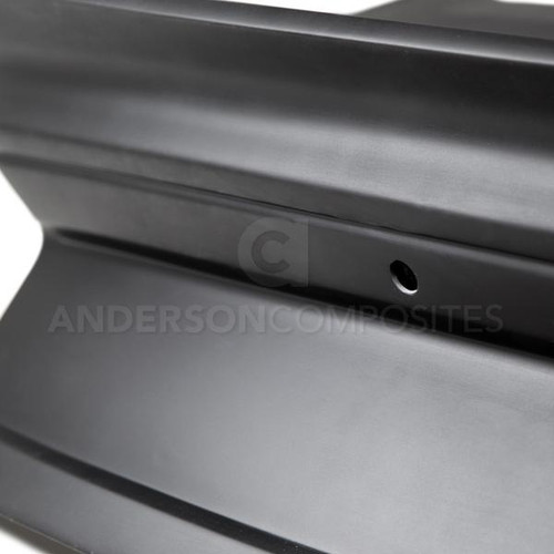Anderson Composites 2015 - 2019 Mustang Fiberglass Type-ST Decklid with Integrated Spoiler