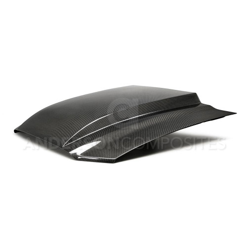 Anderson Composites Carbon Fiber Cowl Hood (2013-2014 Ford Mustang)