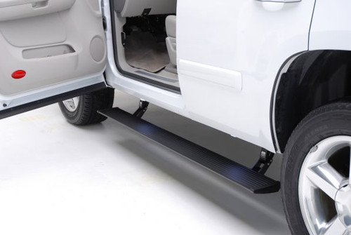 AMP Research PowerStep Running Boards, Plug N Play System for 2018 Ford Expedition, Max Model, Gas only