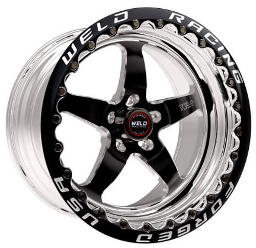 """Weld 17x10.0"""" S71 Beadlock Wheel (Black)"""