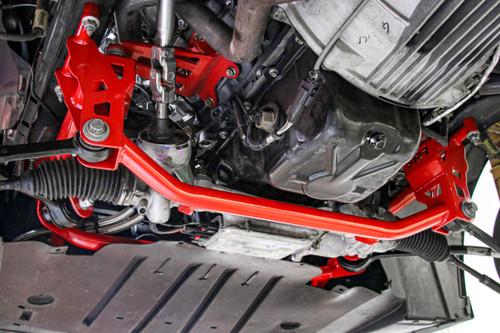 BMR 2015 Ford Mustang GT Lightweight Drag Race K-Member - Red