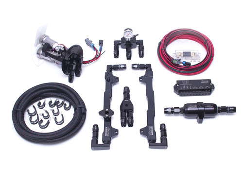 Fore Innovations 2007-2014 GT500 L4 Fuel System (Triple Pump)