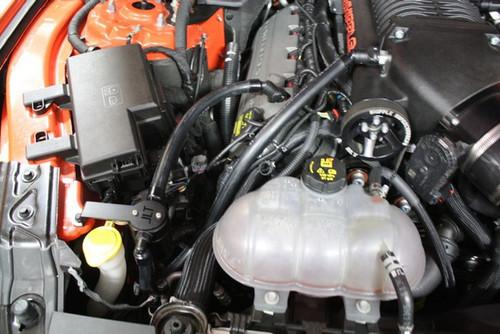 JLT 3.0 Oil Separator, Passenger Side - Black Anodized (2015-2019 GT, GT350, Bullitt & Whipple Supercharged)