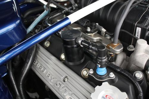 JLT Oil Separator 3.0 Passenger Side - Black Anodized (2007-2014 GT500)
