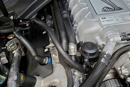 2020 GT500 JLT Oil Separator - Black