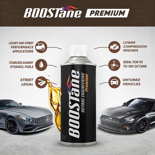 BOOSTane Premium 16oz Single Bottle
