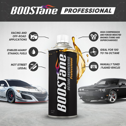 BOOSTane Professional 32oz Single Bottle - Product Specs