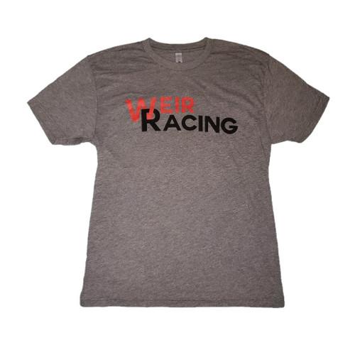 Weir Racing T-Shirt (Large) - Grey